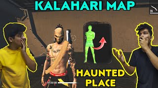 FreeFire || We Found Haunted Place In Kalahari Map || Scariest hiding Place - Live Reaction