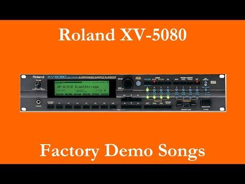 Roland XV-5080 - Démos internes - Factory Demo Songs