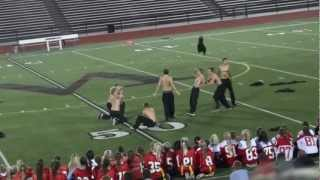 2012 Westside High School Powderpuff Halftime Show