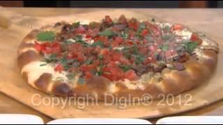 Bacon Gorgonzola Pizza With Caramelized Onion