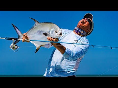 Key West Florida Fishing Inshore Slam - Tarpon Bonefish Permit