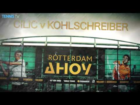 2016 ABN AMRO World Tennis Tournament - Quarter-Final Highlights