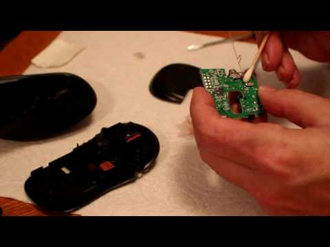 How To Clean a Logitech M310 Optical Wireless Mouse