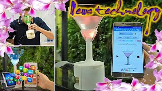 News Techcology -  Virtual cocktail lets you change drink's flavour using app