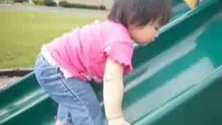 妹妹溜滑梯