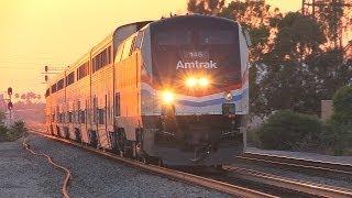 Trains in Orange County & Santa Fe Springs (June 29th, 2014)