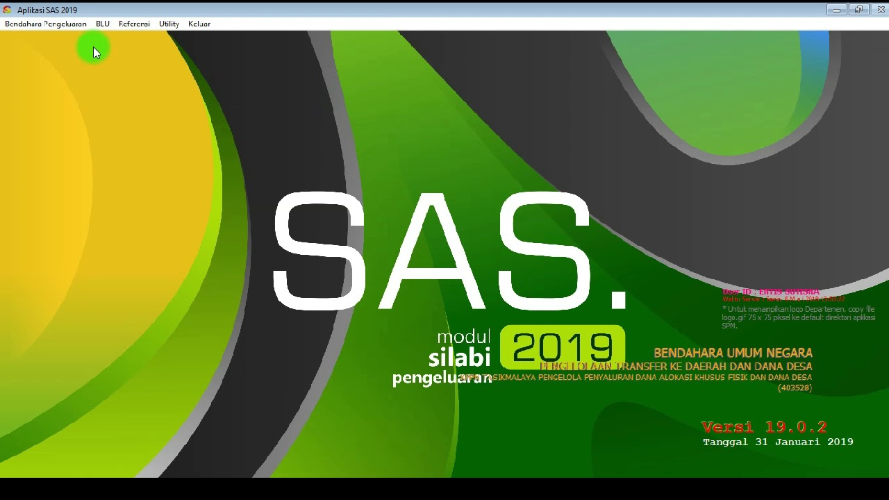 Aplikasi SAS 2019 Part 2 - YouTube