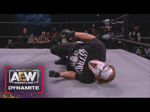 The End of the Main Event Between Darby Allin & 10 is Must See | AEW Dynamite, 4/28/21