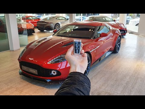 2016 Aston Martin Vanquish Zagato Coupe: In-Depth Exterior and Interior Tour + Exhaust!