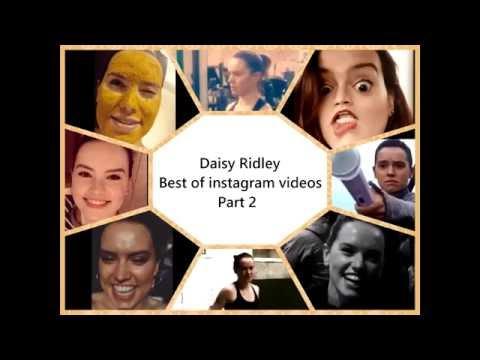Daisy Ridley Best Instagram Videos 2