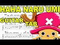 Learn How to Play Haha Naru Umi  Fingerstyle Acoustic Guitar Lesson TABS(One Piece.Ost)