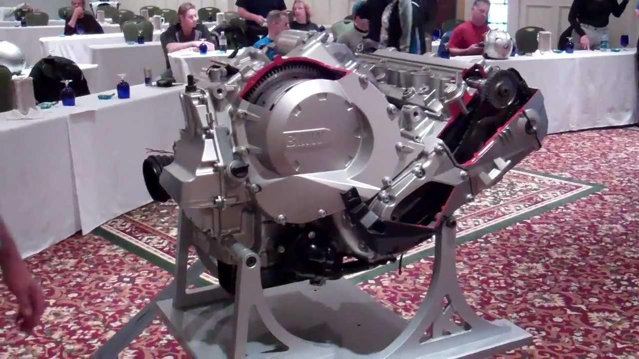 How A 2012 Bmw K1600 S Engine Works 1 888 Bmw Bob S