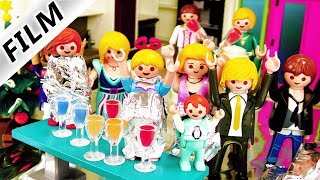Playmobil Film deutsch | SILVESTER IN DER SILBERNEN LUXUSVILLA | Kinderserie Familie Vogel