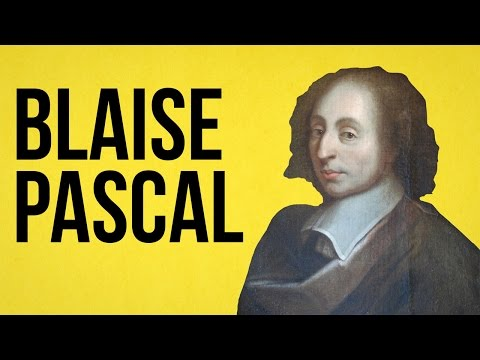 PHILOSOPHY - Blaise Pascal