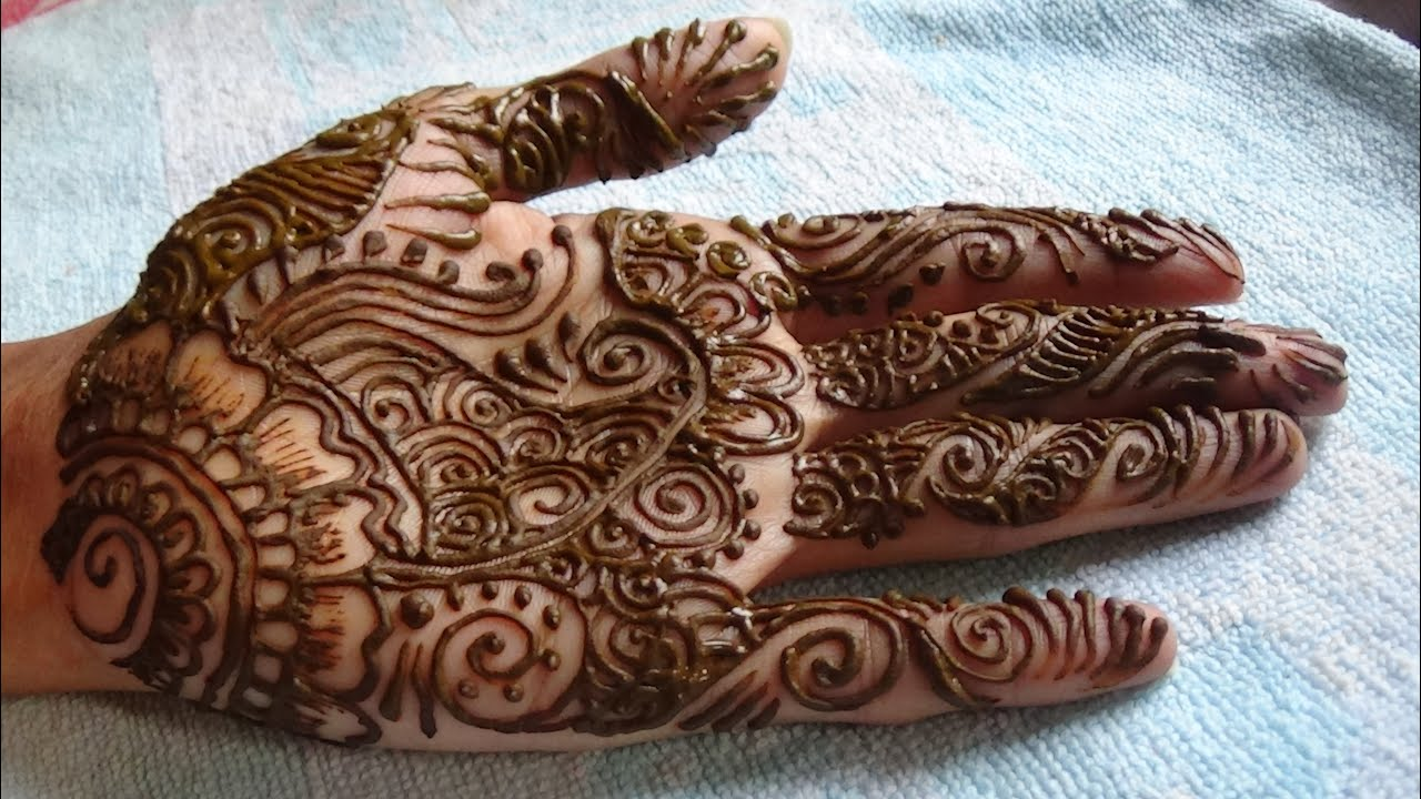 Mehndi Easy Design : New mehndi easy designs with