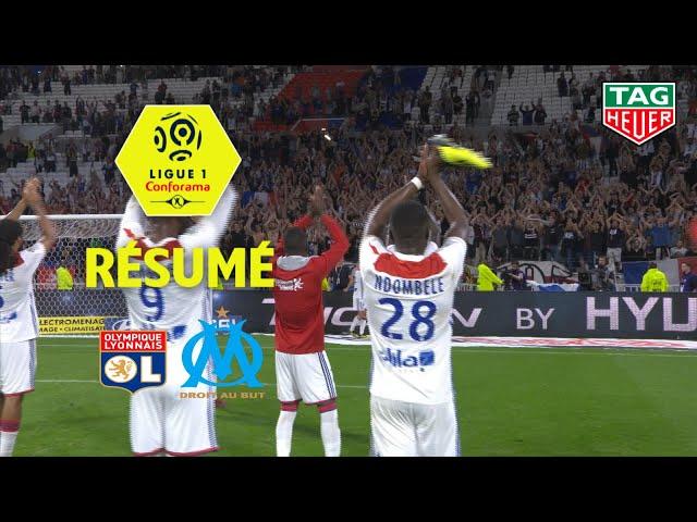 Ligue 1 conforama olympique lyonnais-olympique de marseille  4-2 -resume-ol-om / 2018-19