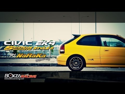 Civic EK9 Spoon Style By NaRaKa Original King - Boxzaracing Magazine