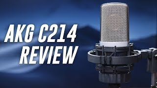 AKG C214 Condenser Mic Review / Test