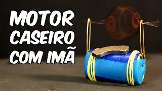Como fazer um MOTOR elétrico com um ÍMÃ (EXPERIÊNCIA de FÍSICA)