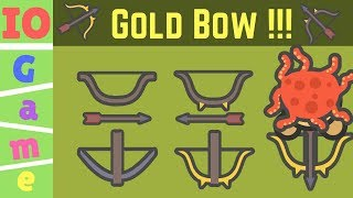 Moomoo.io - BEST TIPS & TRICKS / HOW TO GET GOLD BOW? / Golden Crossbow - moomoo.io epic gameplay
