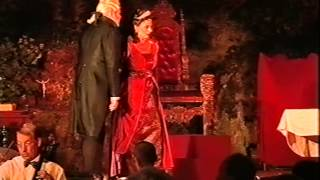 PUCCINI - TOSCA:  Torture scene in the middle of the Audience on a Castle