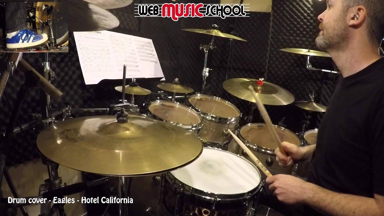 Hotel California Drum Cover YouTube