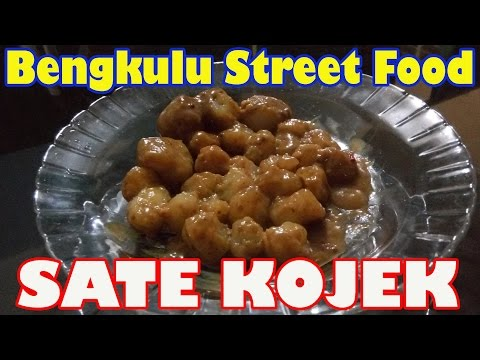 Bengkulu Street Food #4 Sate Kojek (Kojek Satay)