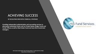 V1 Fund Administration Services