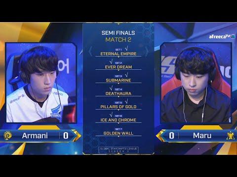 VOD: Armani vs Maru - 2020 GSL Season 3 - Game 6