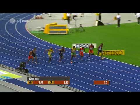 Usain Bolt 9.58 100m New World Record Berlin [HQ]