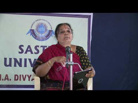 M.A. Divya Prabandham  Dr.  V.  Bhooma (II Year)