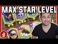 Maxed Out Star Level Legendary Karty Skin Efekty Clash Royale CZ SK Pepis mp3
