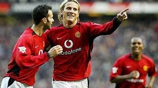 Diego Forlan's 17 Goals For Manchester United