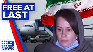 Australian Kylie Moore-Gilbert freed from Iranian prison | 9 News Australia