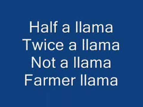 Llama duck song lyrics