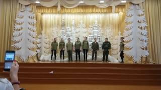 """25 школа 9Б открытие """"Месячника  патриотической песни"""""""