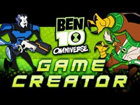 Ben 10 - Omniverse Game Creator   [ Full Gameplay ] - Ben 10 Games