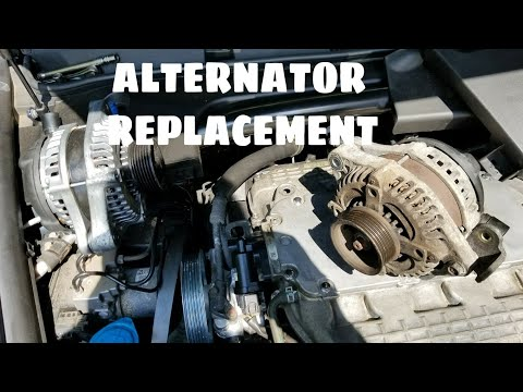 HOW TO REPLACE AN ALTERNATOR TUTORIAL HONDA ACURA