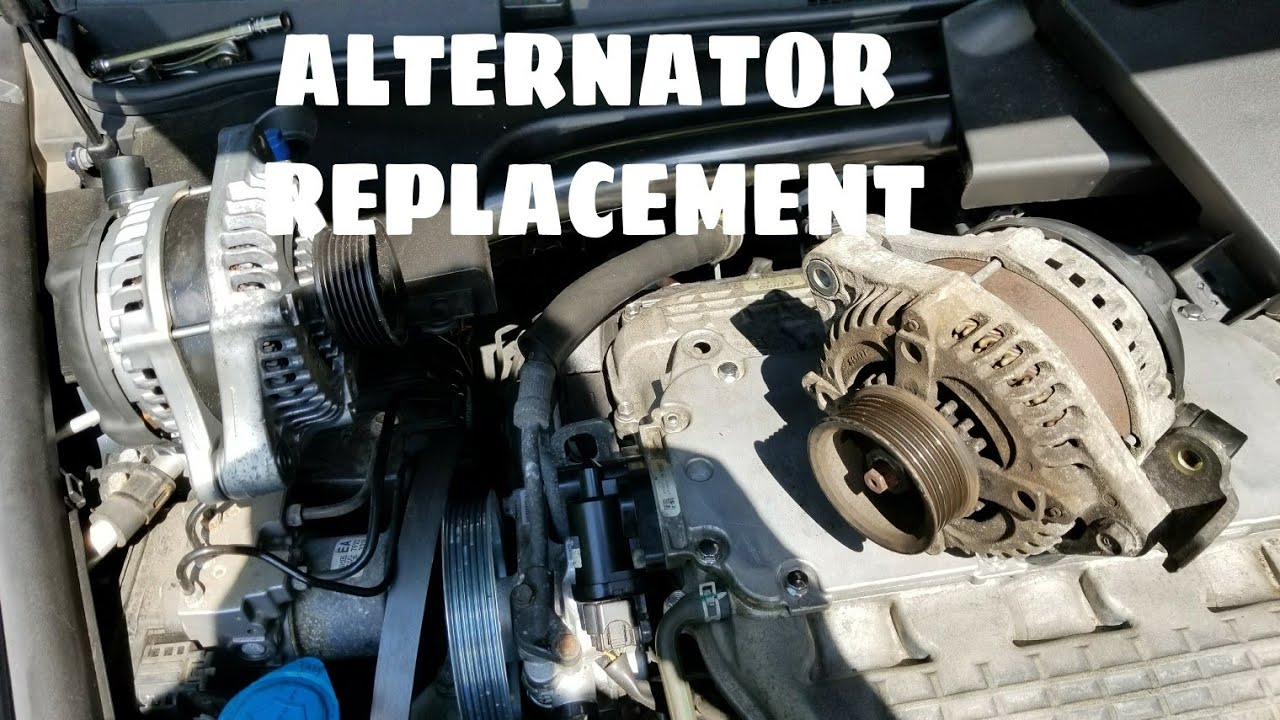 how to replace an alternator power steering belt replacement honda