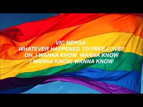 Vic Mensa - Free Love (Ft. Halsey, Le1f, Lil B, and Malik Yusef) - Lyrics