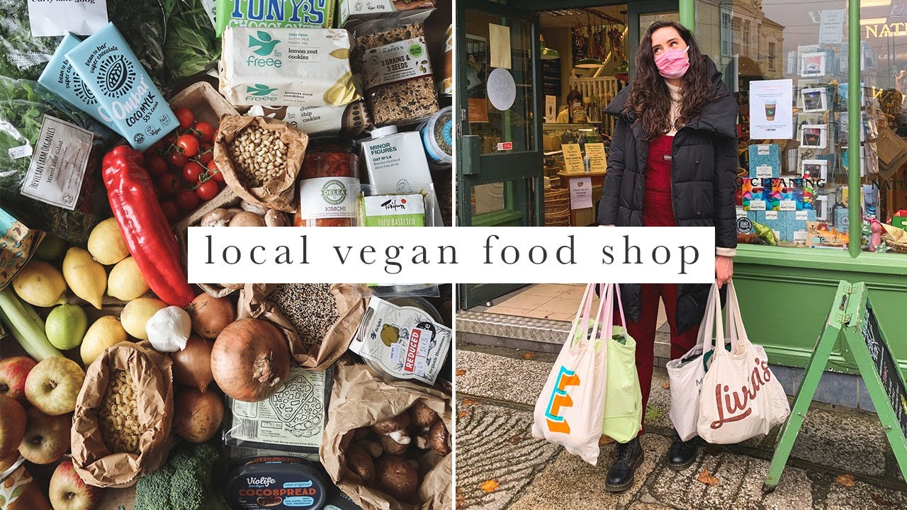 Vegan Food Shop | £100+ Low Waste, Organic & Local Grocery Haul