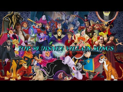 Top 50 Disney villain songs