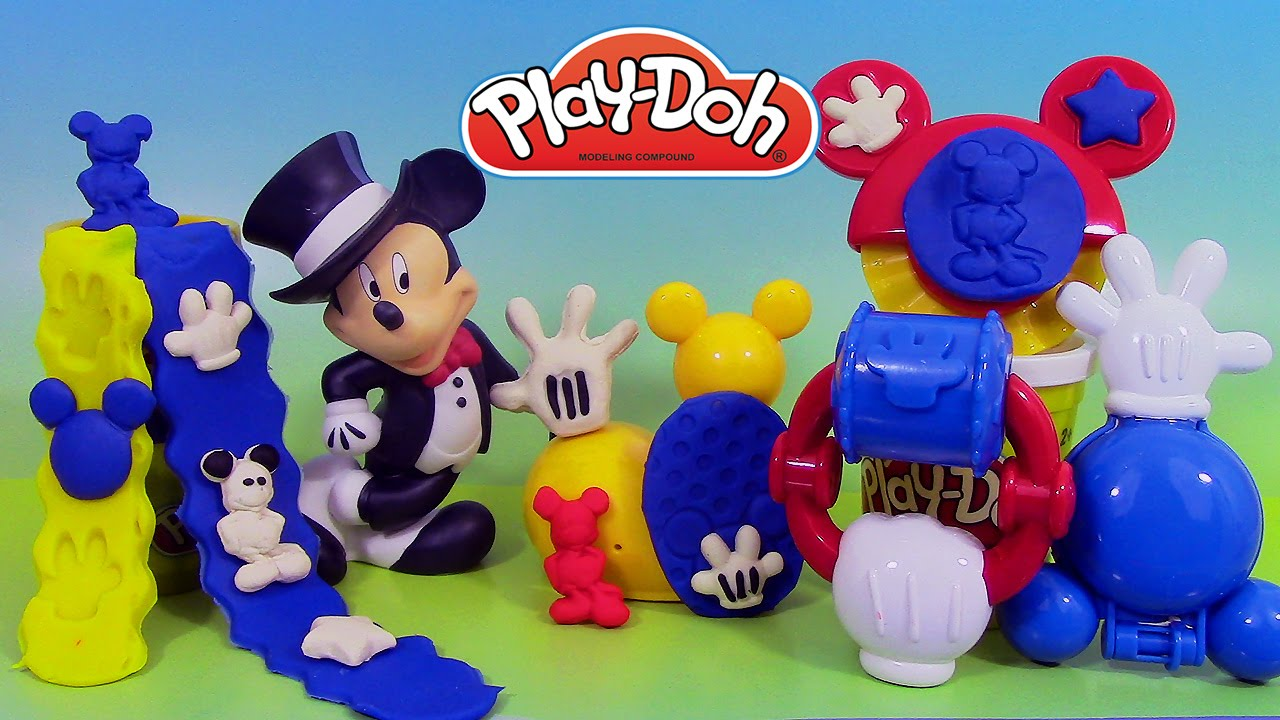p 226 te 224 modeler play doh mouskatools mickey mouse clubhouse maxi outils