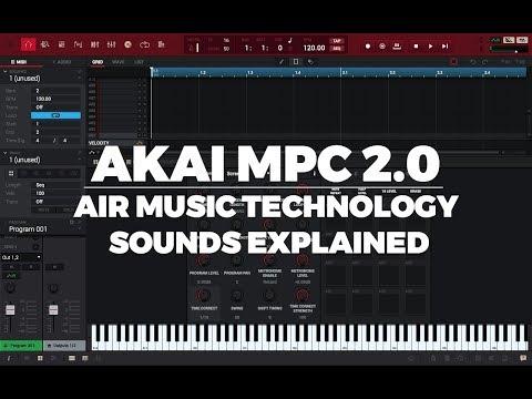 AKAI MPC 2.0 TUTORIAL | AIR MUSIC SOUNDS EXPLAINED