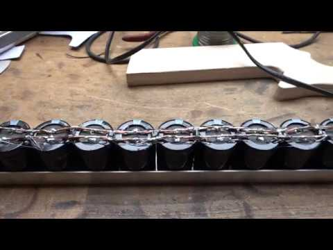 We make a railgun part 1: How to make a capacitor bank