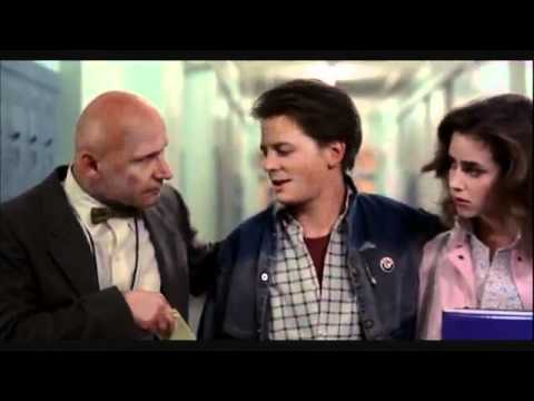 Youre a Slacker! Back to the Future Mr Strickland Scene