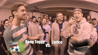 Sport-Rap-Battle #3 Bong Teggy (Fußball) vs. Lyrico (Eishockey): | DLTLLY | Rap Battles | SPOX