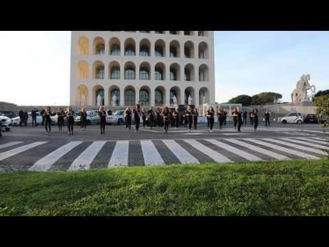 Primo flash Mob di KIZOMBA LADY STYLE!  a Roma ,Italia by ILARIA