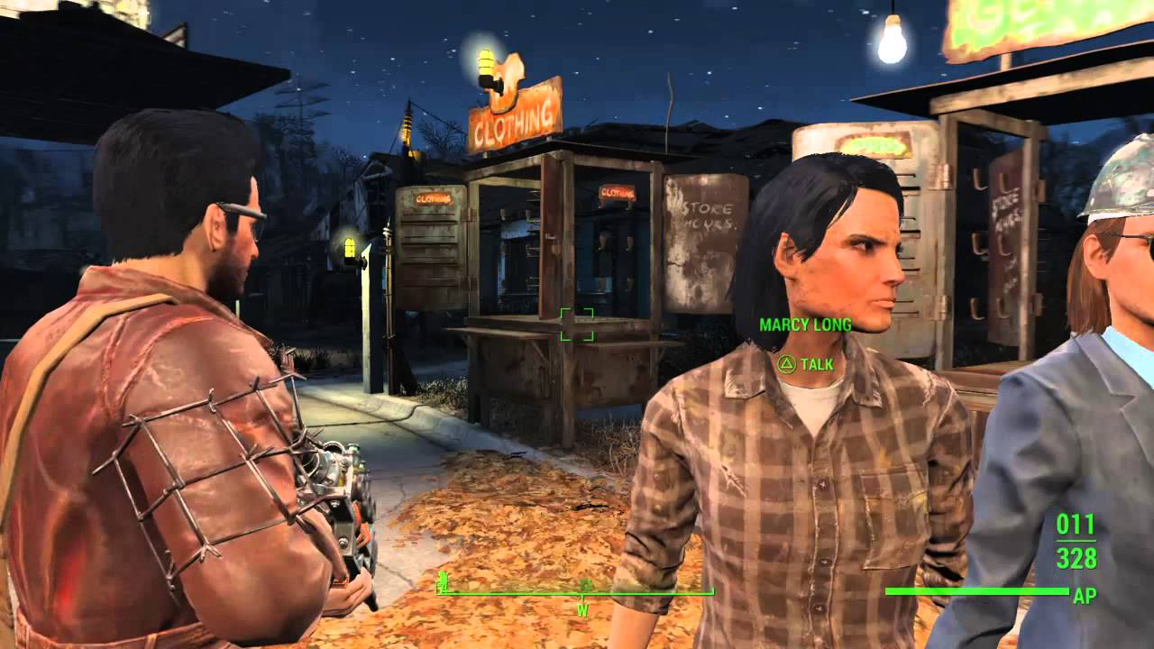 How To Teach Marcy Long Some Manners Fallout 4 Youtube