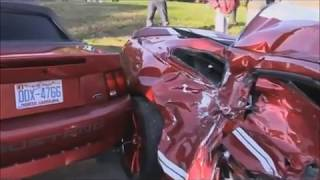 Car Crash Compilation Dash Cam Ford Mustang Drivers USARussiaGermany Crazy Drivers